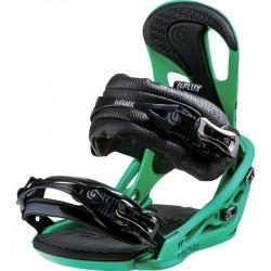 Flux Snowboardbindung TT , green, 2014