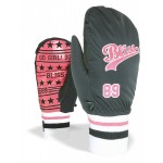 Level Bliss Flair mitt  Snowboardhandschuhe, black-SM / 7,5
