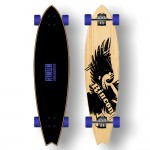 RINCON Skateboard Longboard Cruiser 86