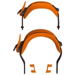 Switchback Snowboardbindung, Strap Set, agent orange