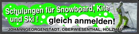 Winterschulung Info - Snowboard & Snowkite & Ski